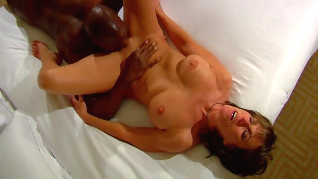 Members Wife.. big cock big tits interracial