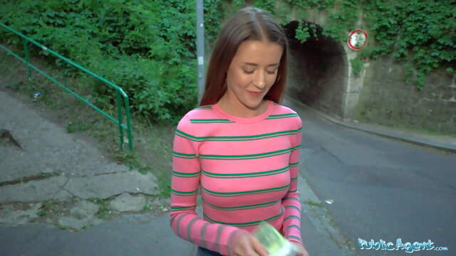 Public Agent.. babe blowjob big boobs