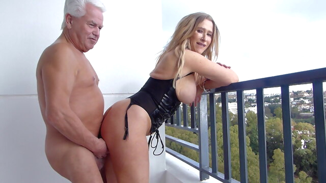 Silver.. blonde mature milf