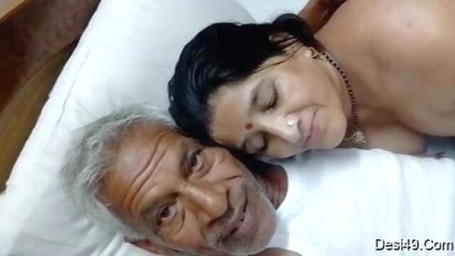 Old man and.. cumshot hardcore indian